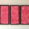 Akrylmaleri på papir