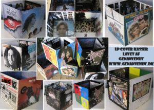 LP covers kasser