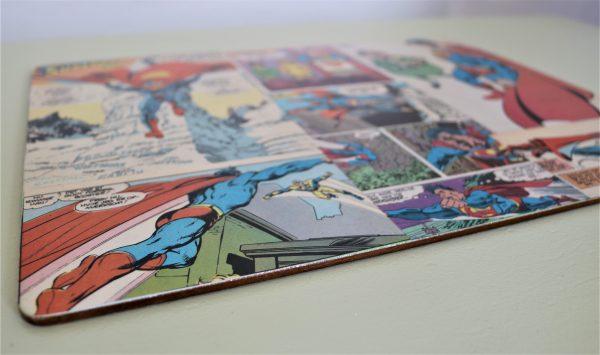 Dækkeserviet med tegneserie