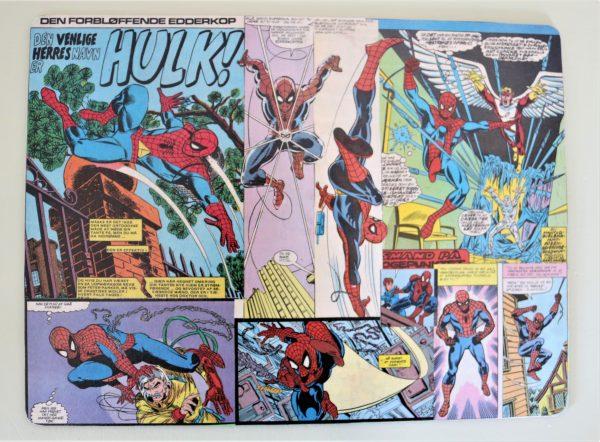 Dækkeserviet Spiderman
