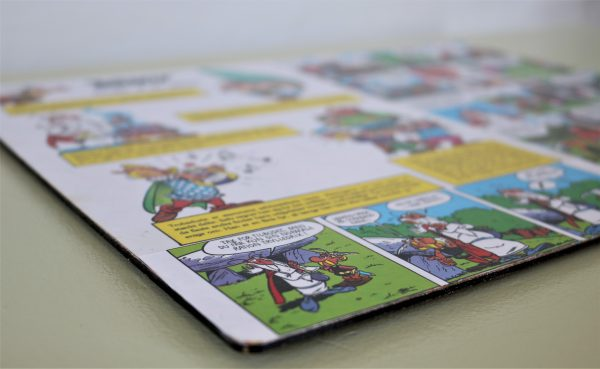 Decoupage Asterix dækkeserviet