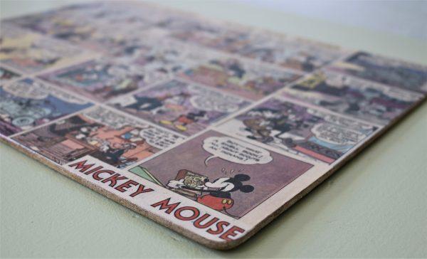Decoupage Mickey Mouse dækkeserviet