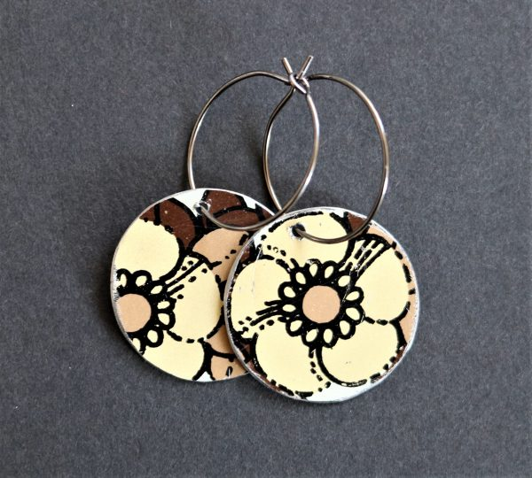 øreringe upcycling earrings
