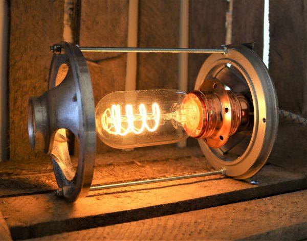 Bordlampe upcycling